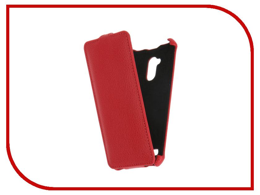 Аксессуар Чехол ZTE Blade V7 Lite Gecko Red GG-F-ZTEBLV7-RED<br>