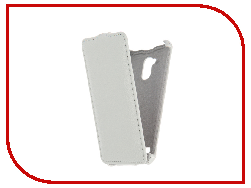 Аксессуар Чехол ZTE Blade V7 Lite Gecko White GG-F-ZTEBLV7-WH