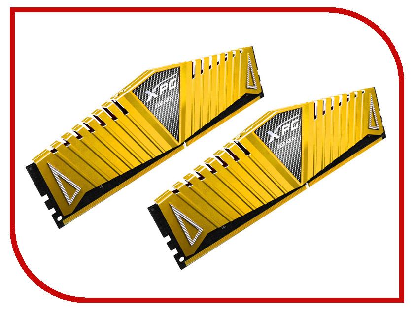 Модуль памяти A-Data XPG Z1 DDR4 DIMM 3200MHz PC4-25600 CL16 - 8Gb KIT (2x4Gb) AX4U3200W4G16-DGZ<br>