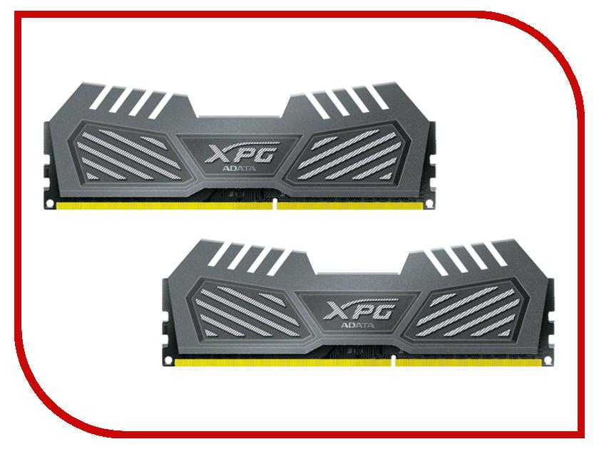Модуль памяти A-Data XPG V2 PC3-14900 DIMM DDR3 1866MHz CL10 - 8Gb KIT (2x4Gb) AX3U1866W4G10-DMV<br>