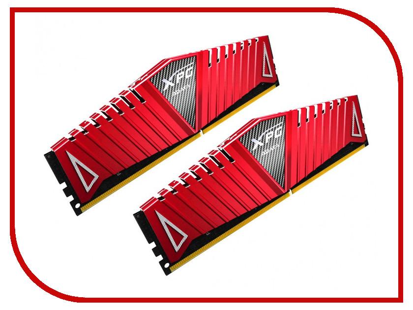 Модуль памяти A-Data XPG Z1 DDR4 DIMM 2800MHz PC4-22400 CL17 - 8Gb KIT (2x4Gb) AX4U2800W4G17-DRZ