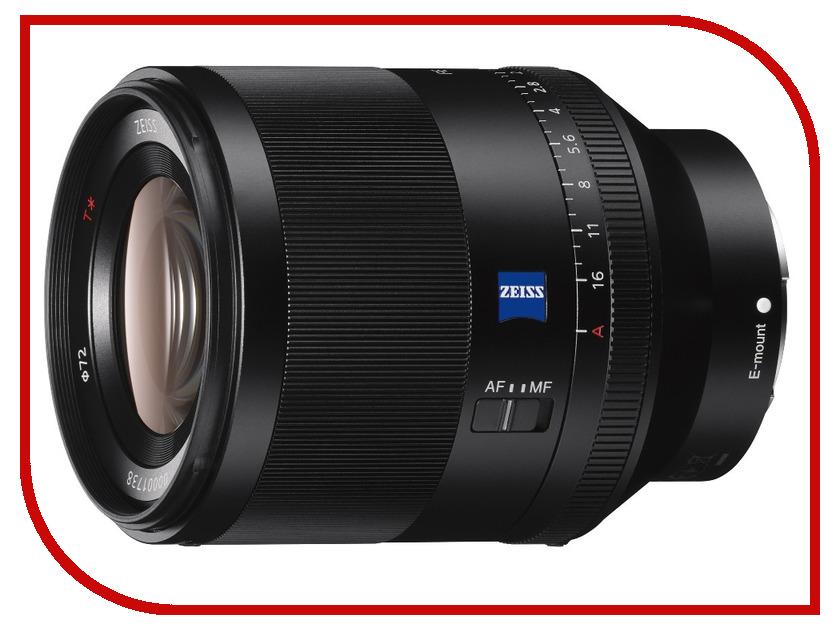 Объектив Sony SEL50F14Z FE 50 mm F1.4 ZA Planar T* объектив sony sel 55210 55 210 mm f 4 5 6 3 oss for nex silver