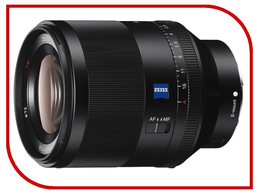 Sony FE 50 mm F1.4 ZA Planar T