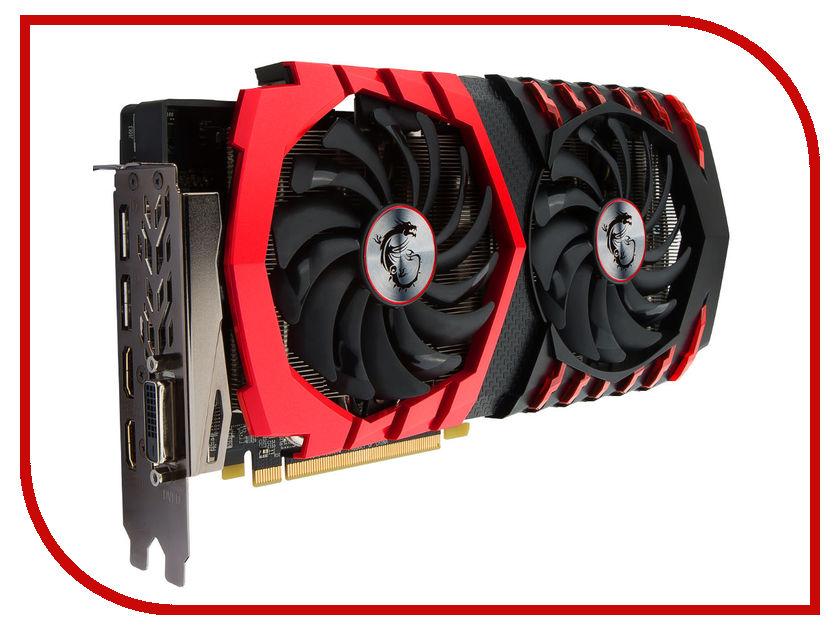 Видеокарта MSI Radeon RX 480 1266Mhz PCI-E 3.0 4096Mb 7000Mhz 256 bit DVI HDMI HDCP RX 480 GAMING X 4G 912-V341-012