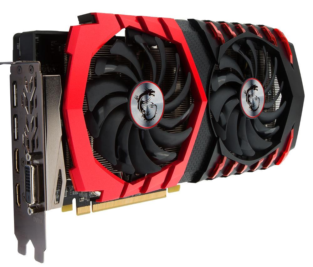 Видеокарта MSI Radeon RX 480 1266Mhz PCI-E 3.0 4096Mb 7000Mhz 256 bit DVI HDMI HDCP RX 480 GAMING X 4G