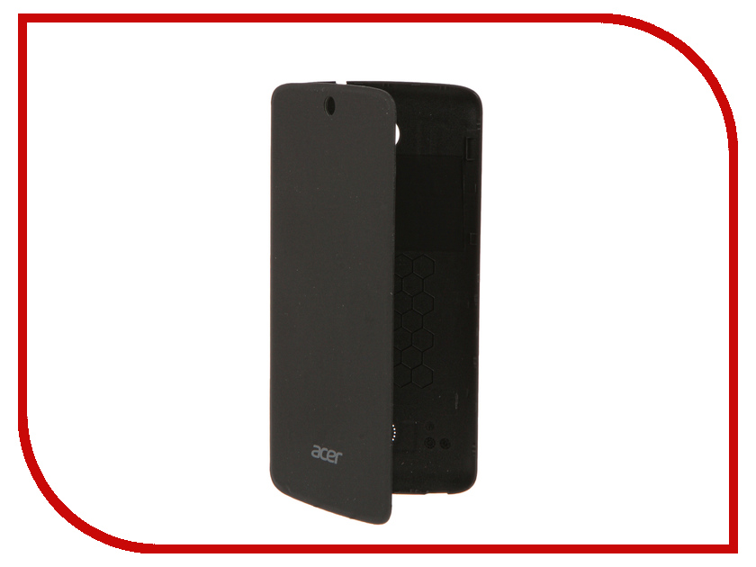 Аксессуар Чехол Acer Zest 4G Flip Cover no window Black HC.70211.08E<br>