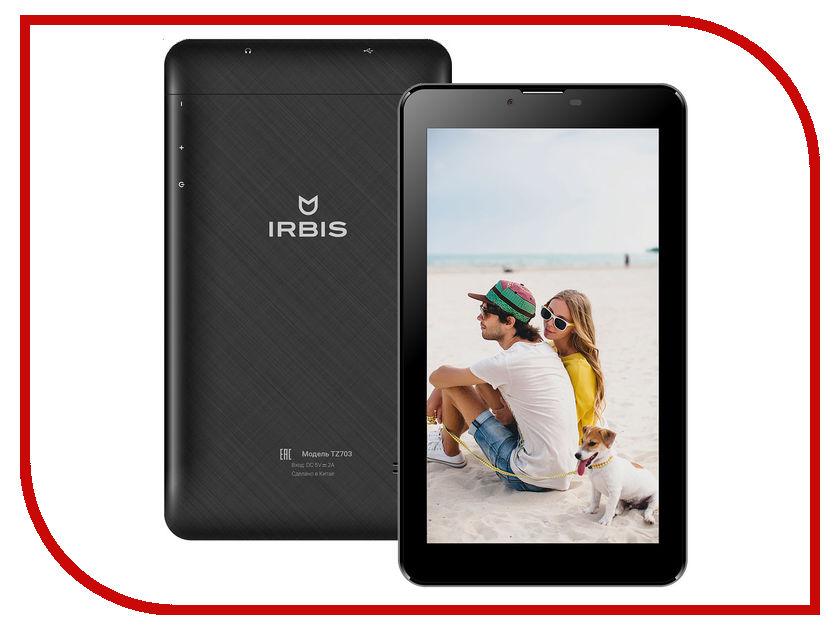 Планшет Irbis TZ703 MediaTek MTK8312CW 1.3 GHz/512Mb/8Gb/Wi-Fi/3G/Bluetooth/GPS/Cam/7.0/1024x600/Android