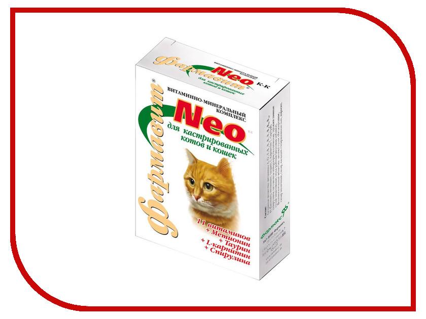 Витамины Фармавит Neo 60 таблеток для кастрированных котов и стерильных кошек ФН-114