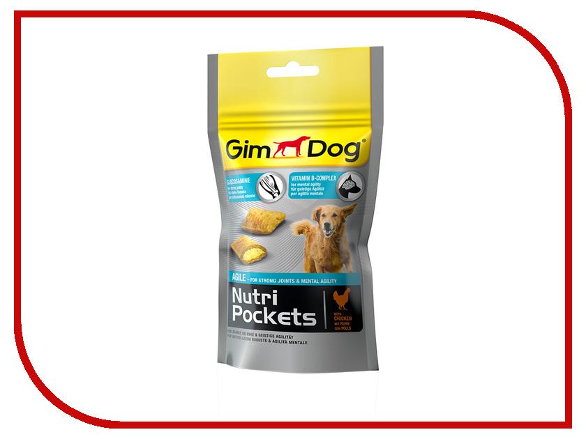 Витамины Gimpet Nutri Pockets Agile с глюкозамином и витаминами группы В 45g для собак 509600