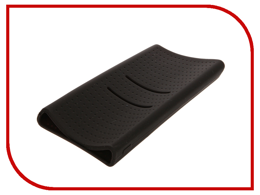 Аксессуар Чехол Xiaomi Silicone Case for Power Bank 20000 Black<br>