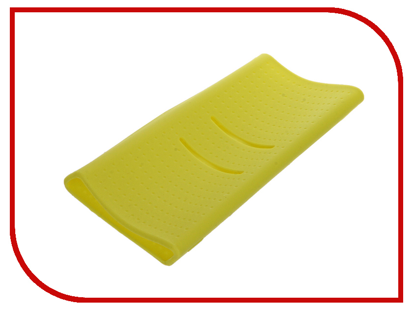 Аксессуар Чехол Xiaomi Silicone Case for Power Bank 20000 Green<br>
