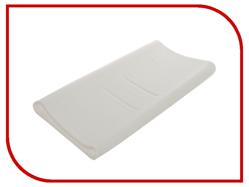 Аксессуар Чехол Xiaomi Silicone Case for Power Bank 20000 White<br>