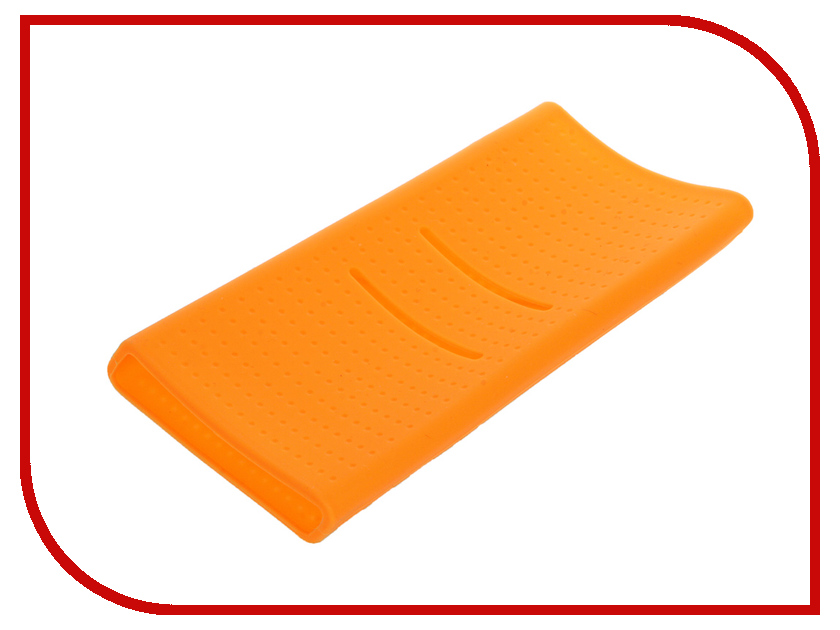 Аксессуар Чехол Xiaomi Silicone Case for Power Bank 20000 Orange