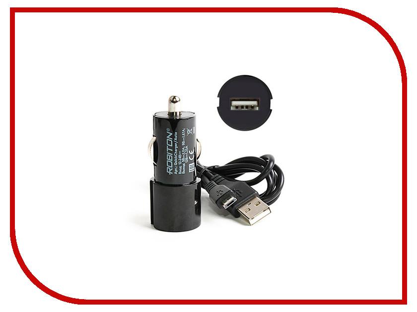 Зарядное устройство Robiton QuickCharger/Auto Black 13775<br>