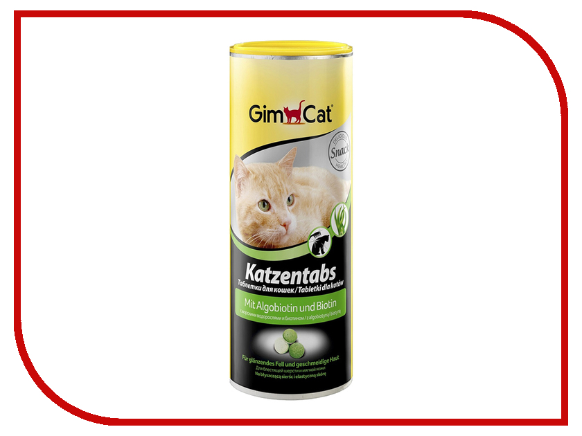 Витамины Gimpet Katzentabs с Биотином и водорослями 710шт для кошек 409139<br>