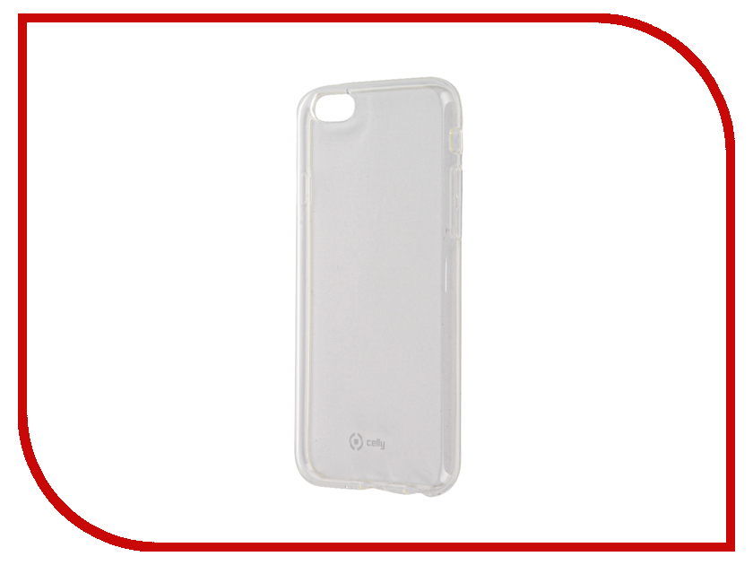 Аксессуар Чехол Celly Gelskin для APPLE iPhone 6/6S Transparent GELSKIN700<br>