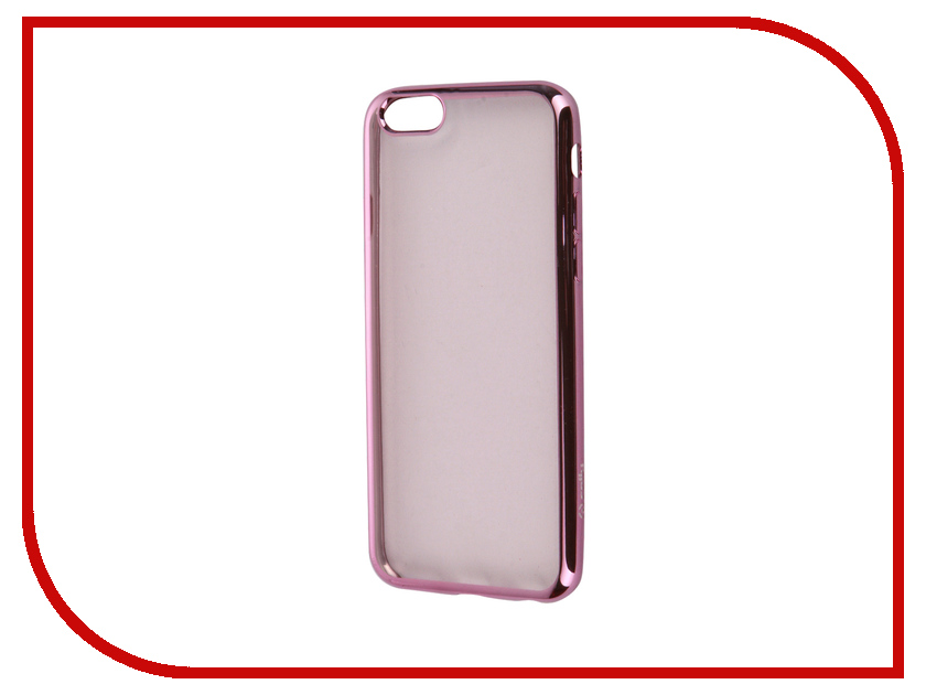 Аксессуар Чехол Celly Laser для APPLE iPhone 6/6S Transparent-Pink BCLIP6SFX
