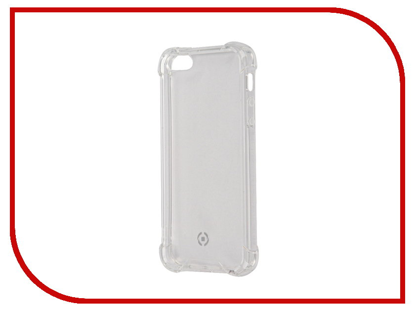 ��������� ����� Celly Armor ��� APPLE iPhone 5/5S/SE Transparent ARMOR185SEWH