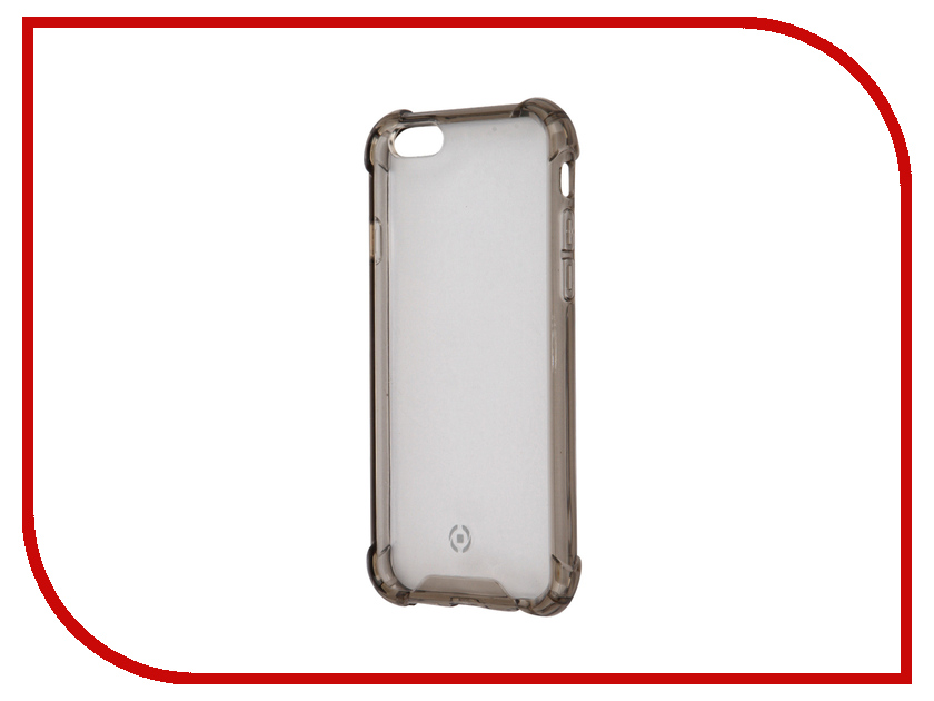 Аксессуар Чехол Celly Armor для APPLE iPhone 6/6S Grey ARMOR700BK<br>