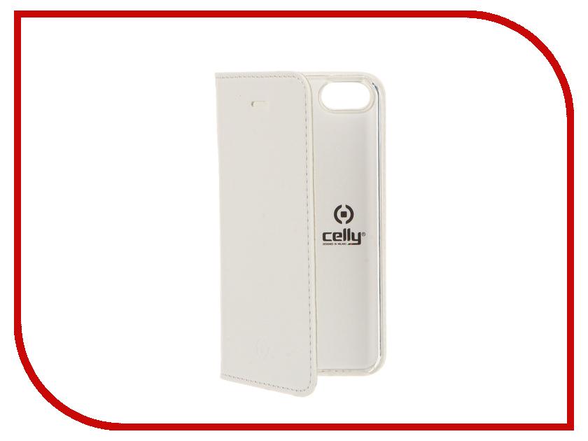 Аксессуар Чехол Celly Air Case для APPLE iPhone 5/5S/SE White AIR185WH<br>