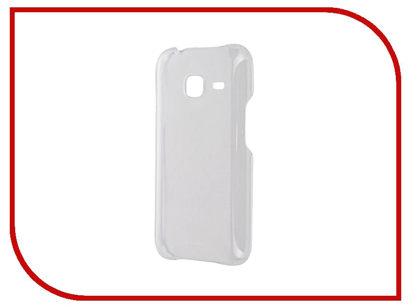 Аксессуар Чехол Samsung Galaxy J1 Mini 2016 Slim Cover Transparent SAM-EF-AJ105CTEGRU<br>