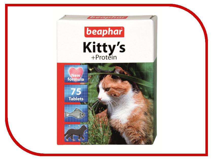 Витамины Beaphar Kittys+Protein Сердечки 75шт для кошек 12510