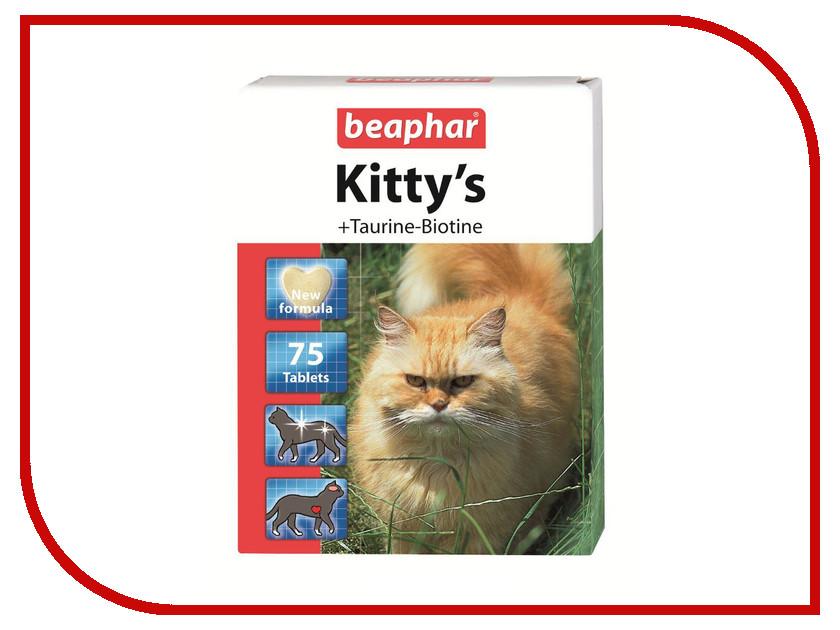 Витамины Beaphar Kittys+Taurine+Biotin 75шт для кошек 12509