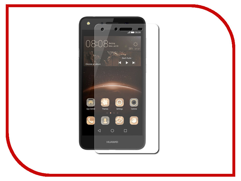 Аксессуар Защитная пленка Huawei Ascend Y5II Red Line<br>