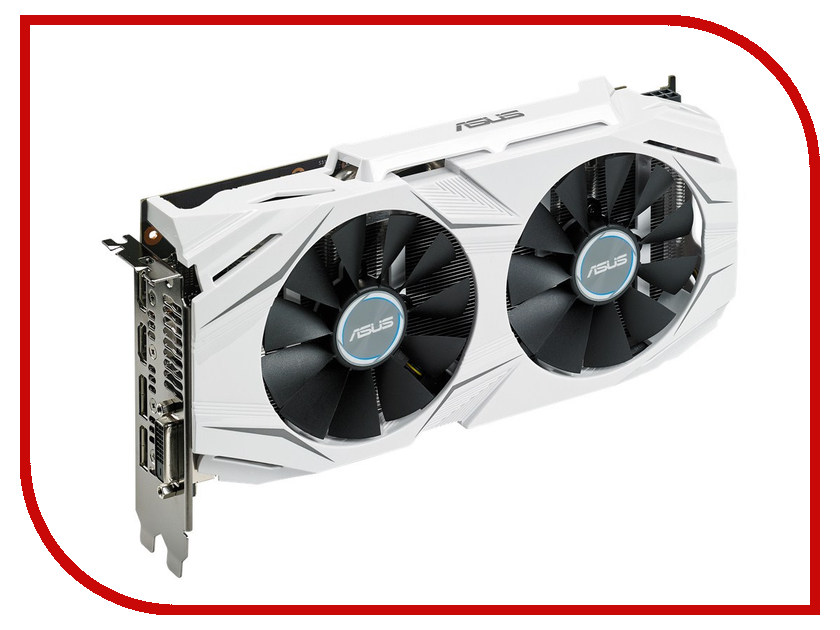 Видеокарта ASUS GeForce GTX 1060 1569Mhz PCI-E 3.0 3072Mb 8008Mhz 192 bit DVI 2xHDMI HDCP DUAL-GTX1060-O3G видеокарта 6144mb msi geforce gtx 1060 gaming x 6g pci e 192bit gddr5 dvi hdmi dp hdcp retail