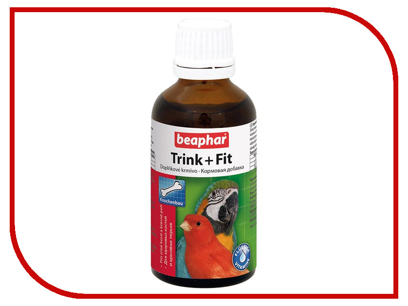 Витамины Beaphar Trink-Fit Birds 50ml для птиц 11620/10265<br>