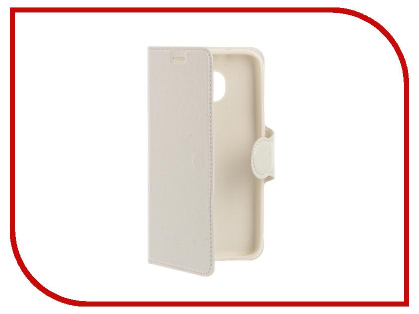 ��������� ����� Samsung Galaxy S7 Red Line Book Type White
