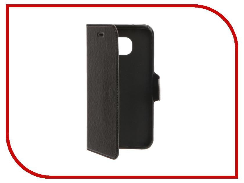 Аксессуар Чехол Samsung Galaxy S7 Edge Red Line Book Type Black<br>