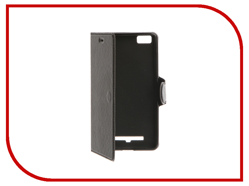 Аксессуар Чехол Xiaomi Mi4c / Mi4i Red Line Book Type Black<br>