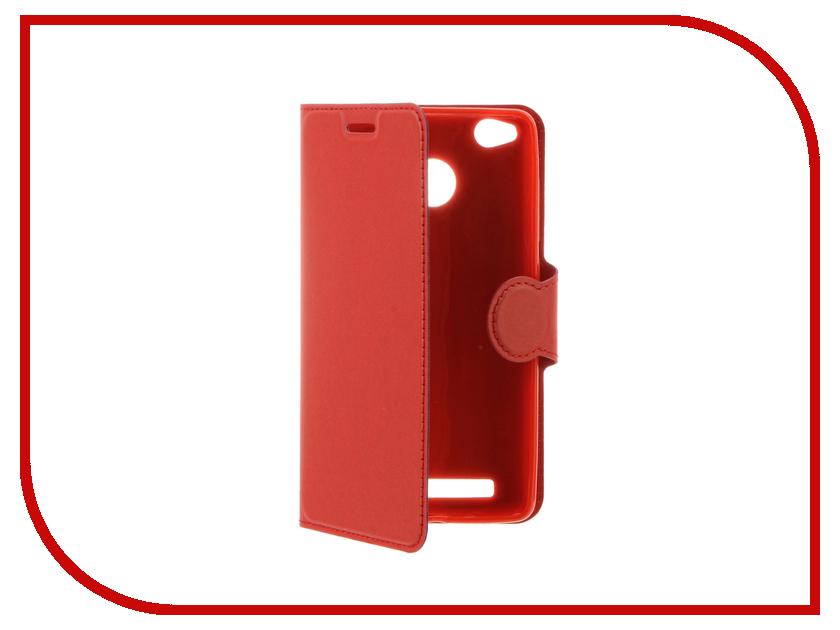 Аксессуар Чехол Xiaomi Redmi 3 / 3 Pro Red Line Book Type Red<br>