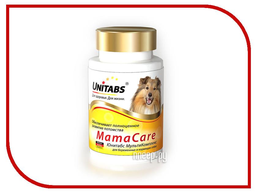 Витамины Unitabs Мама Care c B9 100 таблеток для беременных собак U208