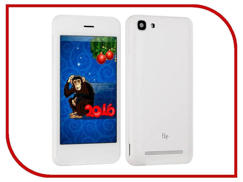 Сотовый телефон Fly FS406 Stratus 5 White<br>