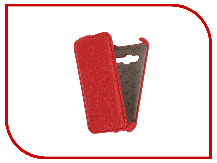 Аксессуар Чехол Alcatel 4034D PIXI 4 (4) Aksberry Red