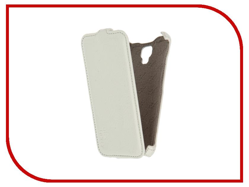 Аксессуар Чехол Alcatel 5010D PIXI 4 (5) Aksberry White<br>
