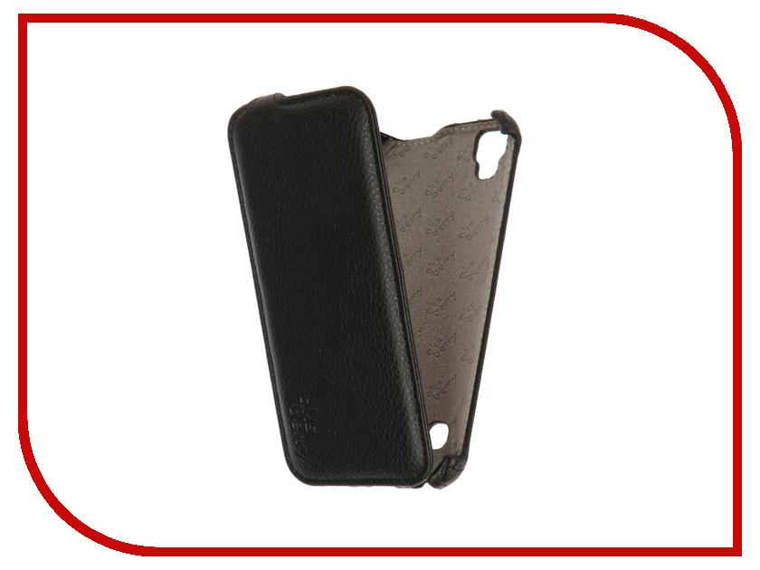 Аксессуар Чехол LG K200DS X Style Aksberry Black<br>