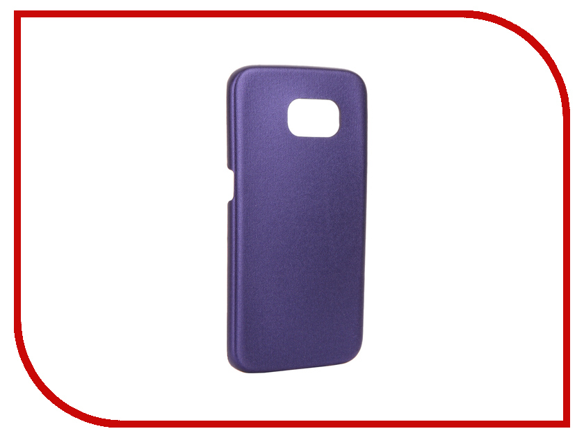 Аксессуар Чехол-накладка Samsung SM-G925 Galaxy S6 Edge Aksberry Slim Soft Violet samsung sm g925f galaxy s6 edge 32 gb emerald