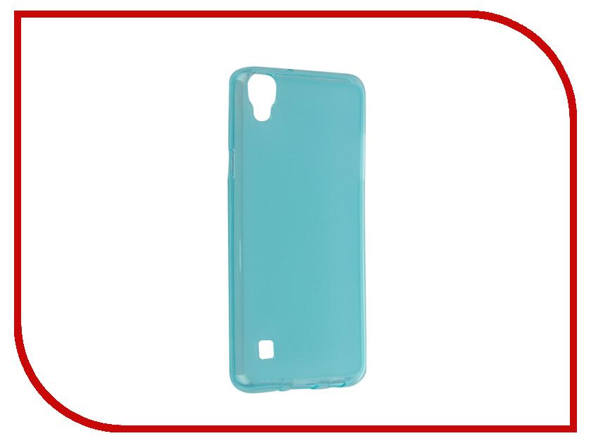 Аксессуар Чехол LG X Style iBox Crystal Blue стоимость