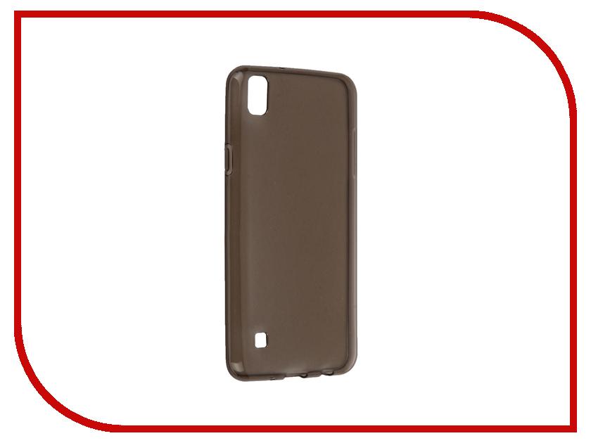 Аксессуар Чехол LG X Style iBox Crystal Grey аксессуар чехол htc desire 825 ibox crystal grey