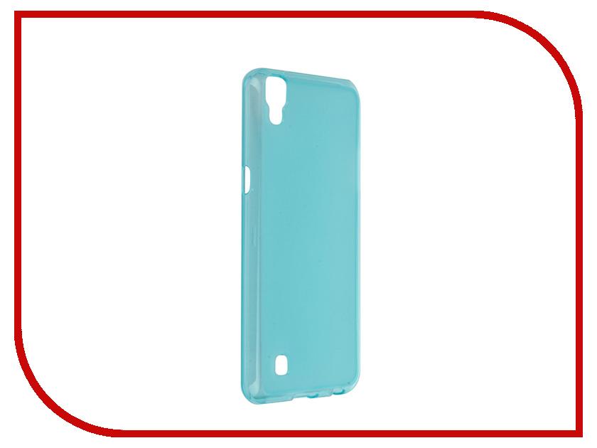 Аксессуар Чехол LG X Power iBox Crystal Blue<br>