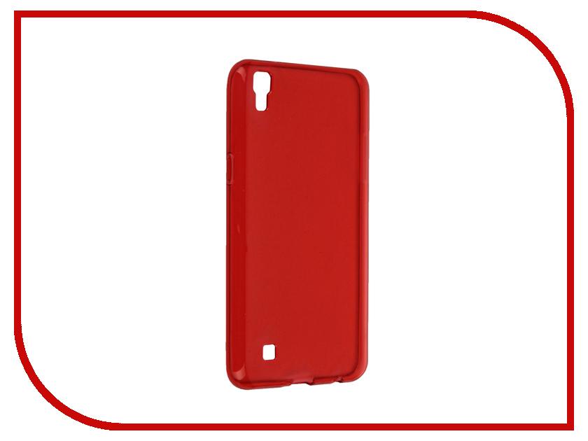 Аксессуар Чехол LG X Power iBox Crystal Red<br>