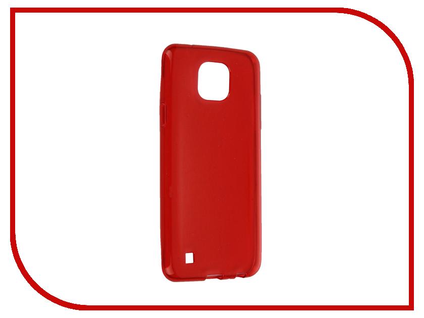 Аксессуар Чехол LG X Cam iBox Crystal Red<br>
