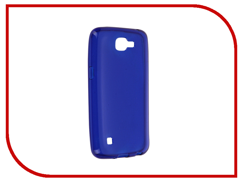 Аксессуар Чехол LG K4 iBox Crystal Blue<br>
