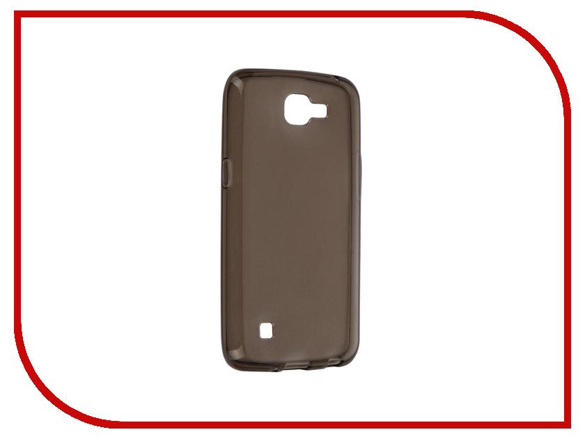 Аксессуар Чехол LG K4 iBox Crystal Grey<br>