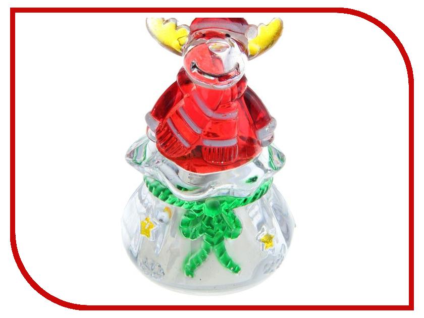 Новогодний сувенир Luazon Подарок от лося RGB 1077340 гирлянда luazon дождь 2m 6m multicolor 671678