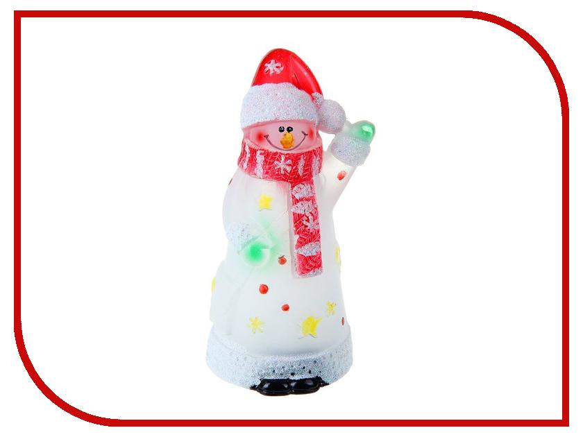 Новогодний сувенир Luazon Снеговик великан RGB 1077354 гирлянда luazon дождь 2m 6m multicolor 671678