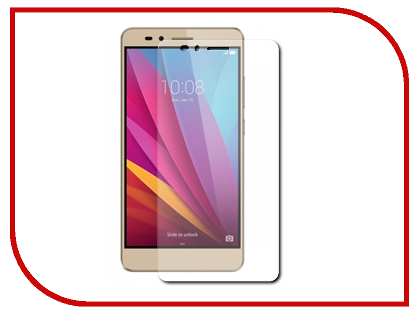 Аксессуар Защитное стекло Huawei Honor 5X Red Line Tempered Glass аксессуар чехол huawei honor 5x red line book type gold